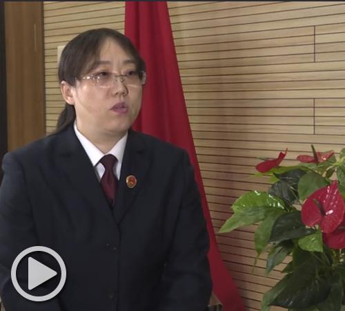呼市土左旗检察院党组书记、检察长 云聪丽
