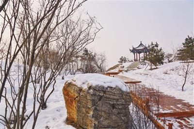 冬季的金川公園 幽靜中蘊藏著美