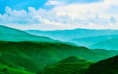 青出于蓝丨碧水千塍共 青山一道斜!快来猜图读诗逛青城啦!