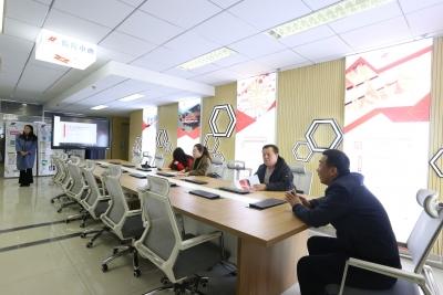 新城区委宣传部一行实地考察调研呼和浩特融媒体传播中心